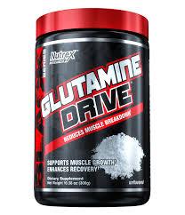 جلوتامين  درايف - Nutrex Research Glutamine drive-60Serv.-300G