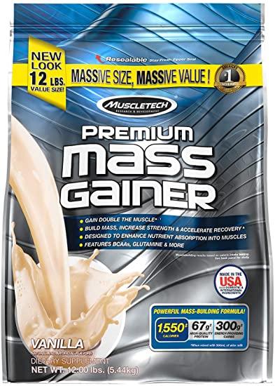 Muscletech Premium Mass Gainer-16Serv.-5.44KG